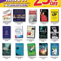 [MPH] And the Gotta Have It promotion continues this 2018, with discounts up to 25% OFF on selected best-selling titles!