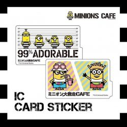 [Orchard Central] Get your hands on these Minions IC/Ez-link Card Stickers at their pop-up shop (L3) in Orchard Central!