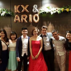 [Kai Garden] Congrats to the lovely couple, KX and Ario, as we tbt to their memorable weekend wedding held in our premises!