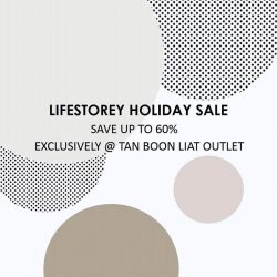 [Lifestorey] Lifestorey Holiday Sale is now on.