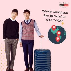 [COSMETICS & PERFUMES BY SHILLA] If you could go on a short getaway with TVXQ, where would your dream destination be?