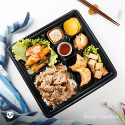 [foodpanda] Beef bulgogi bento set, anyone?