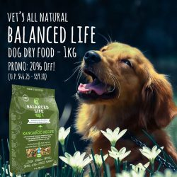 [Pet Lovers Centre Singapore] Balanced Life is developed by Dr Bruce Syme to provide a fully balanced, complete and natural raw food diet.