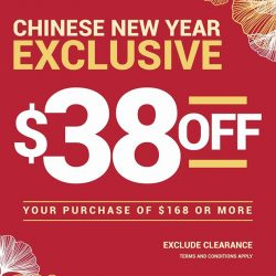 [Crumpler] CNY Exclusive Deal: Save $38 with spending above $168.