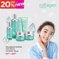 [Watsons Singapore] Reveal your inner glow with Collagen by Watsons Hydro Balance range!