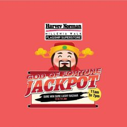 [Harvey Norman] It's a SURE WIN Sure Lucky Weekend at HarveyNormanSG Millenia Walk Flagship Superstore!