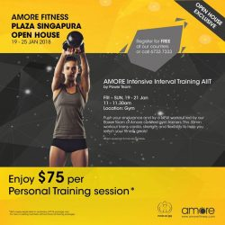 [Amore Fitness] Unsure of how to get fit in time before the Chinese New Year?
