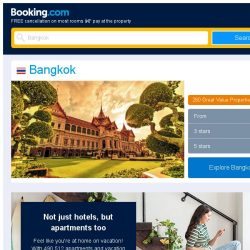 [Booking.com] Deals in Bangkok from S$ 15