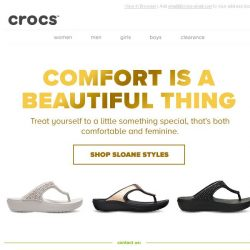 [Crocs Singapore] Don't settle for boring! Discover Crocs Sloane Collection!