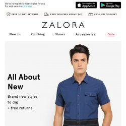 [Zalora] Psst.. Your next outfit is inside