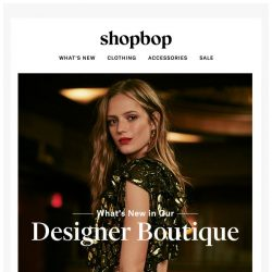 [Shopbop] Prepare to want everything inside