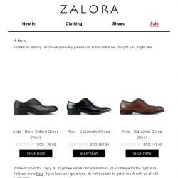 [Zalora] Are you still shopping for Formal?
