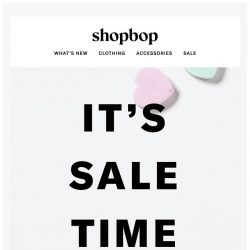[Shopbop] Sweet styles just added to our SALE