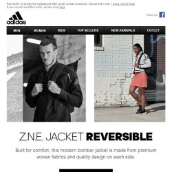 [Adidas] ZNE JACK REVERSIBLE - CHOOSE WHAT THEY SEE