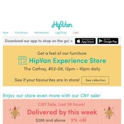 [HipVan] Have you checked out our new store?😍