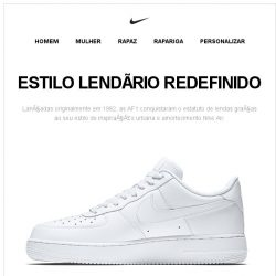 [Nike] As Air Force 1 Mid 07 esperam por ti