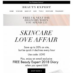 [Beauty Expert] Last Chance | Save Up To 20% Inside + Free Gift