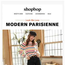[Shopbop] Say oui to this French-inspired outfit