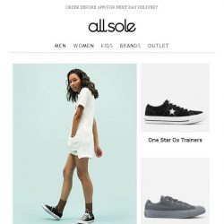 [Allsole] Step into the new season with Converse