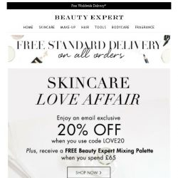 [Beauty Expert] Skincare Love Affair | Save 20% Inside + Free Gift