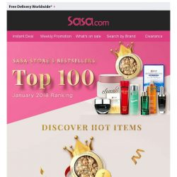 [SaSa ] 【Bestsellers at Sasa Store】 Buy HERE with exclusive offer!