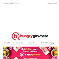[HungryGoWhere] Missed your favourite cravings, ?