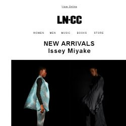 [LN-CC] New arrivals: Issey Miyake S/S 18