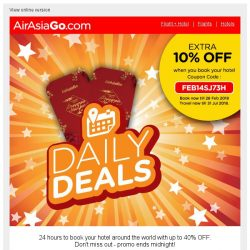 [AirAsiaGo] 👉  Chinese New Year weekend deals are up for grabs!