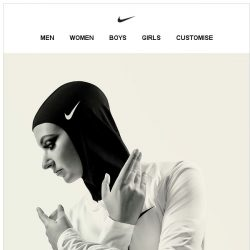 [Nike] Introducing the Nike Pro Hijab
