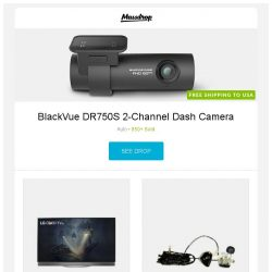 [Massdrop] BlackVue DR750S 2-Channel Dash Camera, LG E7P OLED 4K HDR Smart 55/65-Inch TV, Ultimate Ears 18+ Pro Universal Fit IEMs and more...