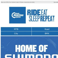 [Chain Reaction Cycles] 45% off Shimano?! 👀