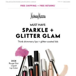 [Neiman Marcus] What's hot & new in beauty + free gifts
