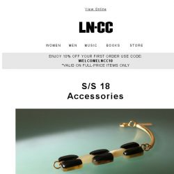 [LN-CC] JUST IN SS18 Accessories