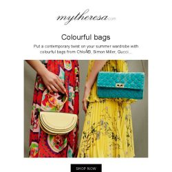 [mytheresa] Steal the spotlight with head-turning summer bags