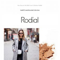 [RODIAL] Inside: Mrs Rodial's Fashion Week Essentials