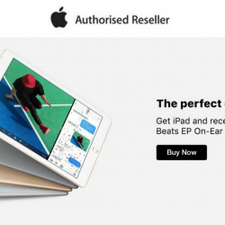 Lazada: Buy Apple iPad or iPad Mini & Get a FREE Beats EP On-Ear Headphones worth $124!