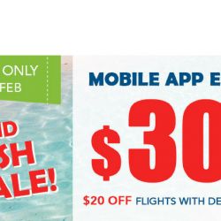 ZUJI: Weekend Flash Sale with $30 OFF Flights using Mobile App