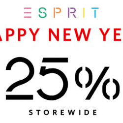 Esprit: CNY Sale with 25% OFF Storewide for Esprit Friends
