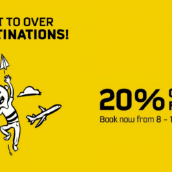 Scoot: Exclusive 20% OFF Fly Fares for NTUC Members