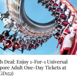 Resorts World Sentosa: Enjoy 1-For-1 Adventure Cove Waterpark & Universal Studios Singapore Adult One-Day Tickets with Maybank Cards!
