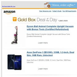 [Amazon] Dyson Ball Animal Complete Upright Vacuum with...