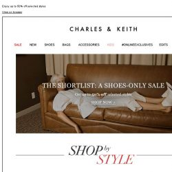 [Charles & Keith] THE SHORTLIST: A Shoes-Only Sale