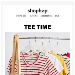 [Shopbop] Time to stock up on tees!