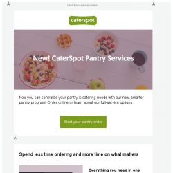 [CaterSpot] New! Order pantry supplies with CaterSpot