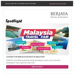 [Berjaya Hotels & Resorts EDm] Vacation Deals You Won't Want to Miss!