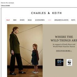 [Charles & Keith] Where The Wild Things Are