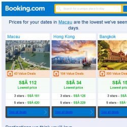 [Booking.com] Prices in Macau dropped again – act now and save more!