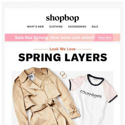 [Shopbop] Take on spring weather in this low-key outfit