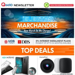 [Qoo10] Stay in trend with the latest accessories and grab yourself a Lenovo/W5 GPS Sport Watch or an Elago W3 / W2 stand for your apple watch !