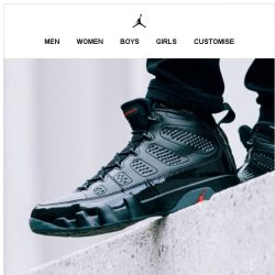 [Nike] Get it Now: Jordan 9 'Bred'